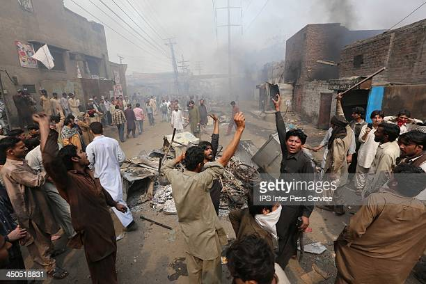 On Mar. 9 Muslim mobs torched the Christian neighbourhood known as Joseph Colony in Lahore.