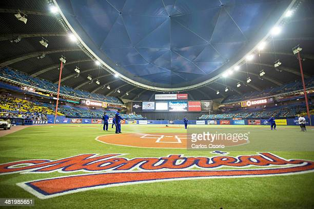 MONTREAL ON MARCH 28 On March 28 and 29 the Toronto Blue Jays played two exhibition games against the New York Mets at Olympic Stadium in MontreaL It...