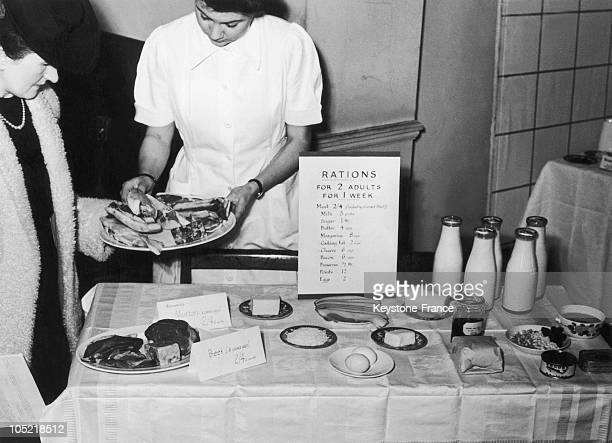 On March 28 The End Of World War Ii Did Not Lead To The End Of Food Rationing The English Minister Of Food Thus Organized An Exhibition In London In...