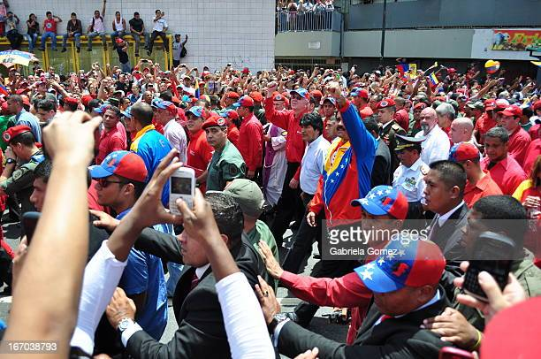 On March 5, 2013 the Government of Venezuela announced the death of President Hugo Chavez Frias, March 6 is called the people to accompany the...