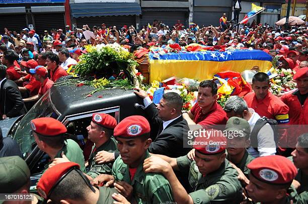 CONTENT] On March 5 2013 the Government of Venezuela officially announced the death of President Hugo Chavez Frias His coffin was paraded through the...
