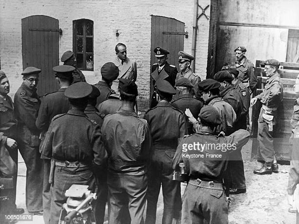 On May The 23Rd Of 1945 2 Weeks After The German Surrender Governement Members Karl Doenitz Albert Speer And General Alfred Jodl Are Arrested By The...