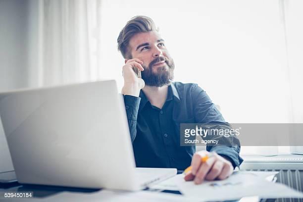 Le mobile dans le bureau