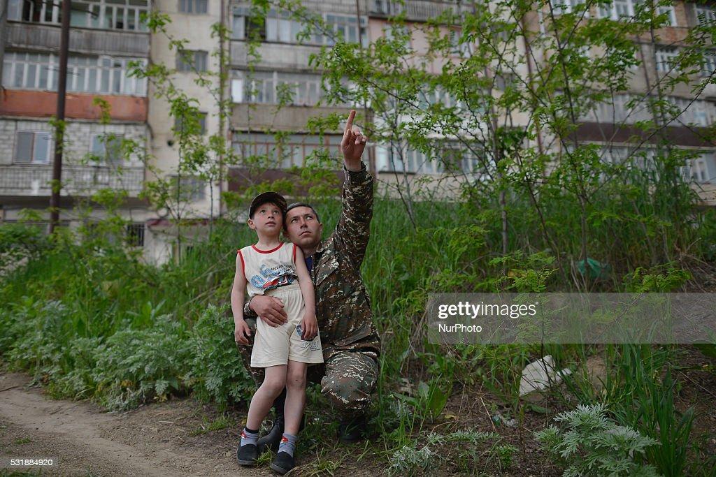 Shushi Town Recovering : News Photo