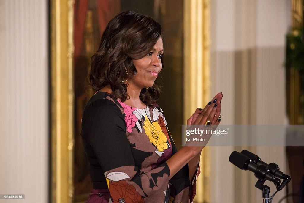 White House Joining Forces Celebration : News Photo