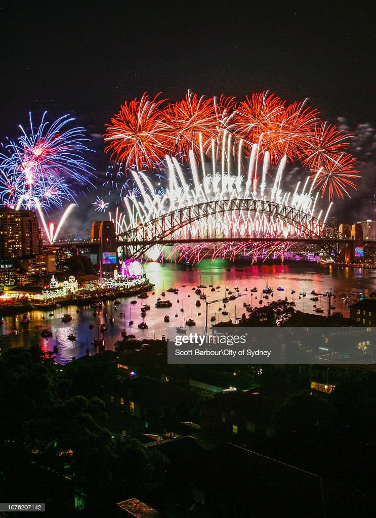Xxxxx On New Year S Eve On Sydney Harbour On December 31 2018 In