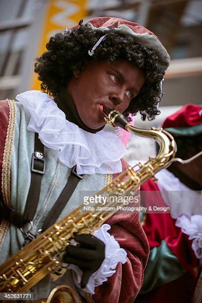 CONTENT] On November 16 Sinterklaas and a substantial retinue of Zwate Pieten paraded through Almere This Piet is part of the band playing the...
