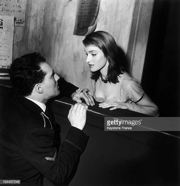 On November 18 1954 at the Marigny Theatre in Paris the two main actors Estella BLAIN and Michel PICCOLI played a scene from the play IRENE...