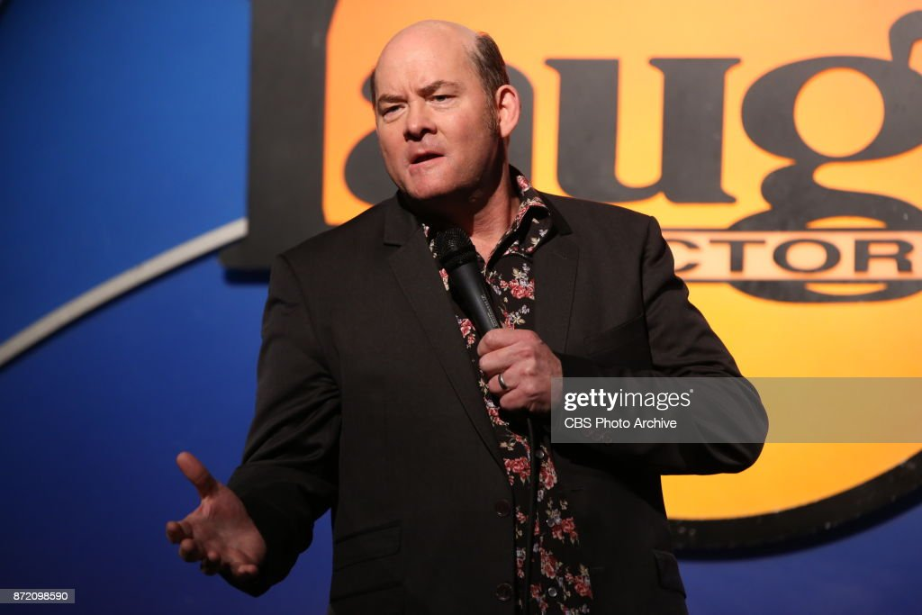 On November 2, 2017, Jermaine Fowler, David Koechner, Maz Jobrani and Rell Battle performed their final show of the cross-country SUPERIOR DONUTS Comedy Tour at The Laugh Factory in Los Angeles. David Koechner, shown