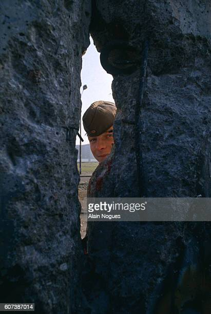 On November 9 1989 Gunter Schabowski leader of the East Berlin communist party announced that the border would be opened for private trips abroad...