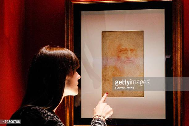 On occasion of the Holy Shroud Exposition in the Senate Hall Palazzo Madama from April 24 to June 2 2015 has exposed the selfportrait of Leonardo Da...