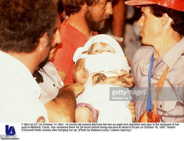 On October 14 1987 18 month old Jessica McClure fell into an eight inch diameter well pipe in the backyard of her aunt in Midland Texas She remained...