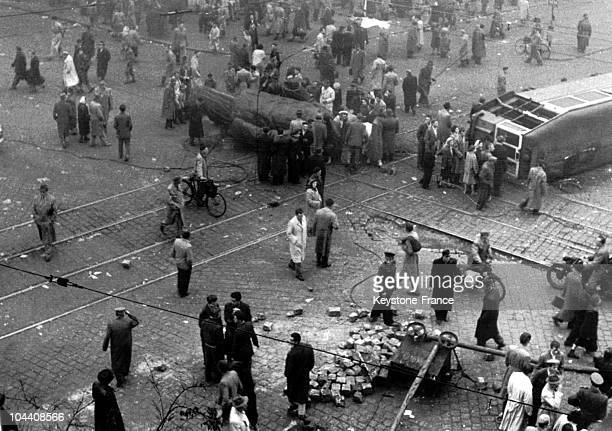 On October 23 1956 at the Jozsef BEM square in Budapest city inhabitants wrenched a 7meter high statue of STALIN off its base This was the beginning...