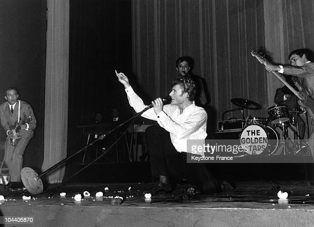 On October 23 1962 at the Olympia in Paris the French singer Johnny HALLYDAY rehearsed onstage one of his new songs before beginning a series of...