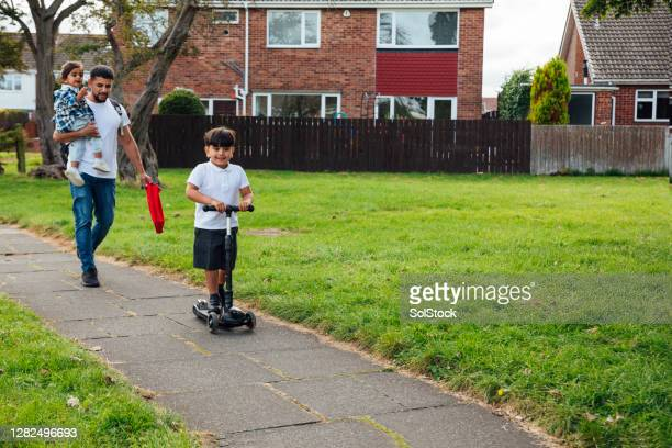 on our way home - education stock pictures, royalty-free photos & images