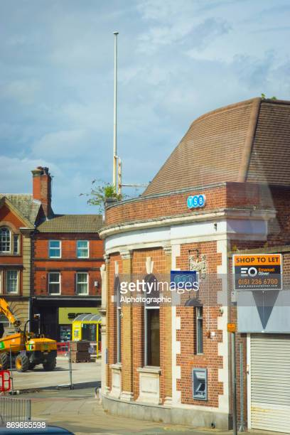 tsb on penny lane in liverpool - sgt. pepper's lonely hearts club band stock pictures, royalty-free photos & images