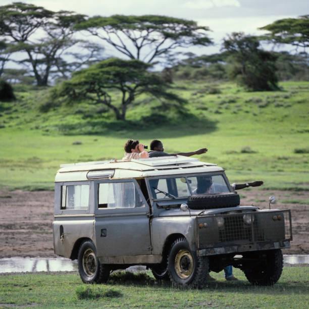 On Safari, Serengeti 1981