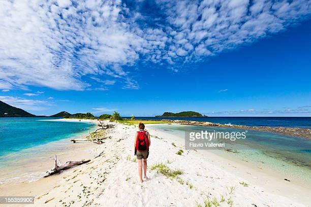on sandy island, granada - paisajes de isla de  granada fotografías e imágenes de stock