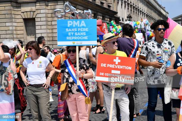 On Saturday 30 June 2018 the Parisians' Pride march will take place behind the motto quotDiscrimination on the carpet in sport and in our lives »