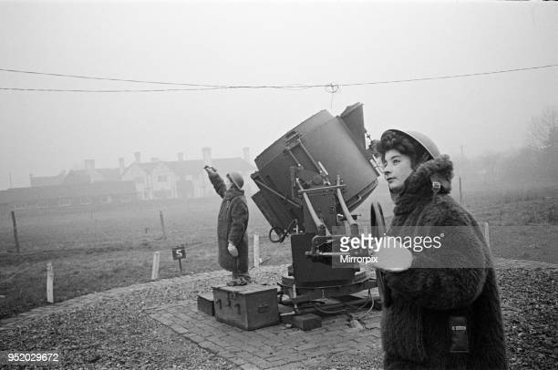 On searchlight battery, 19th January 1943.