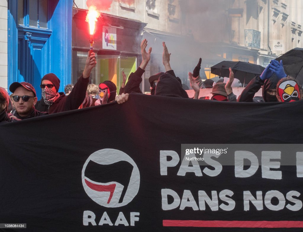 Anti-fascist Demonstration In Angers