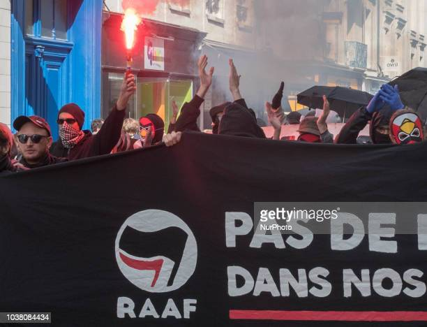 On September 22 2018 a regional antifascist event brought together 500 activists from all over western France and some Parisians who came to oppose...