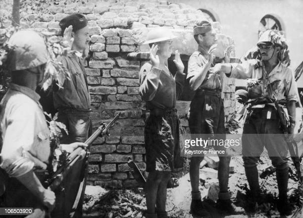 On September 7Th 1943 Near Akyab In Myanmar English Soldiers Are Taken Prisoner By Japanese Forces Which Just Crushed Two AngloHindu Division Holding...