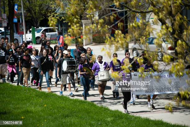 On Sunday April 27 2014 hundreds of high school students and other supporters participated in the March to Close the Gap They walked from the...