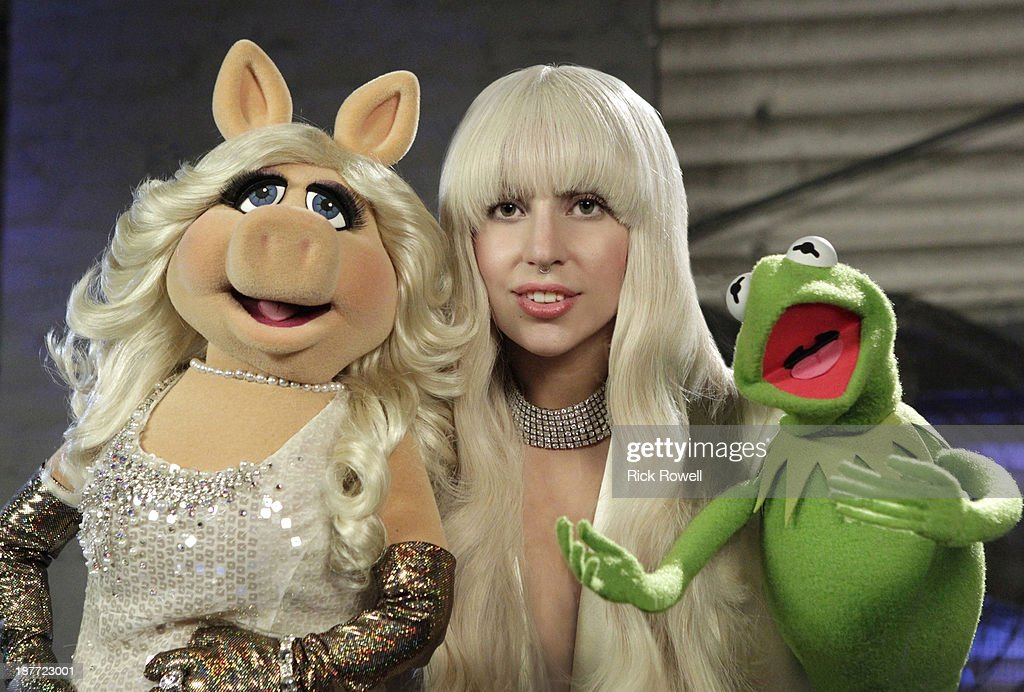 MUPPETS' HOLIDAY SPECTACULAR - On Thanksgiving night, THURSDAY, NOV. 28 (9:30-11:00pm, ET), the ABC Television Network will air a 90-minute special, 'Lady Gaga & the Muppets' Holiday Spectacular,' an avant-garde twist on the classic holiday variety show as Lady Gaga goes backstage with The Muppets, making a performance dream come true for the multi-platinum singer songwriter when they combine forces to sing holiday favorites and Lady Gaga hits. (Photo by Rick Rowell/ABC via Getty Images) MISS