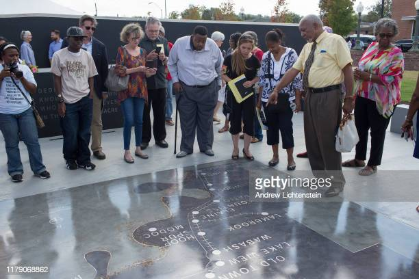 On the 100 year anniversary of the Elaine racial massacre a memorial dedication is held for the public on September 29 2019 in downtown Helena...