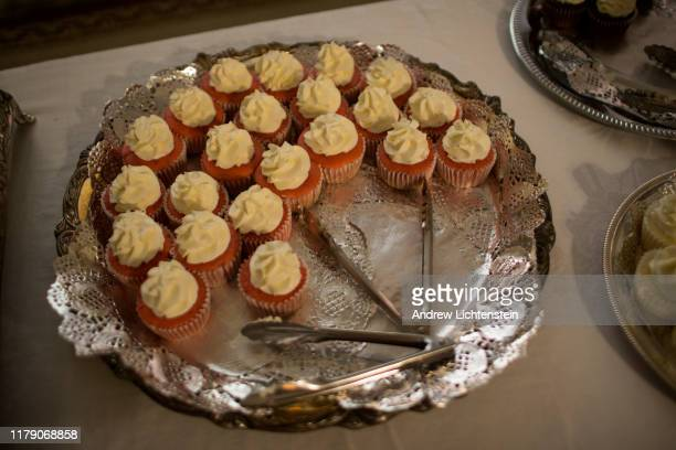 On the 100 year anniversary of the Elaine racial massacre cupcakes are served at a memorial dedication for the public on September 29 2019 in...