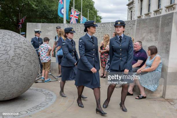 On the 100th anniversary of the Royal Air Force and following a flypast of 100 aircraft formations representing Britain's air defence history which...