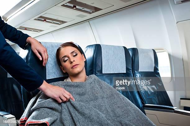 Sur l'avion