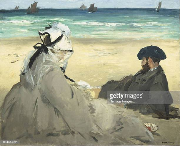 On the Beach 1873 Found in the collection of the Musée d'Orsay Paris