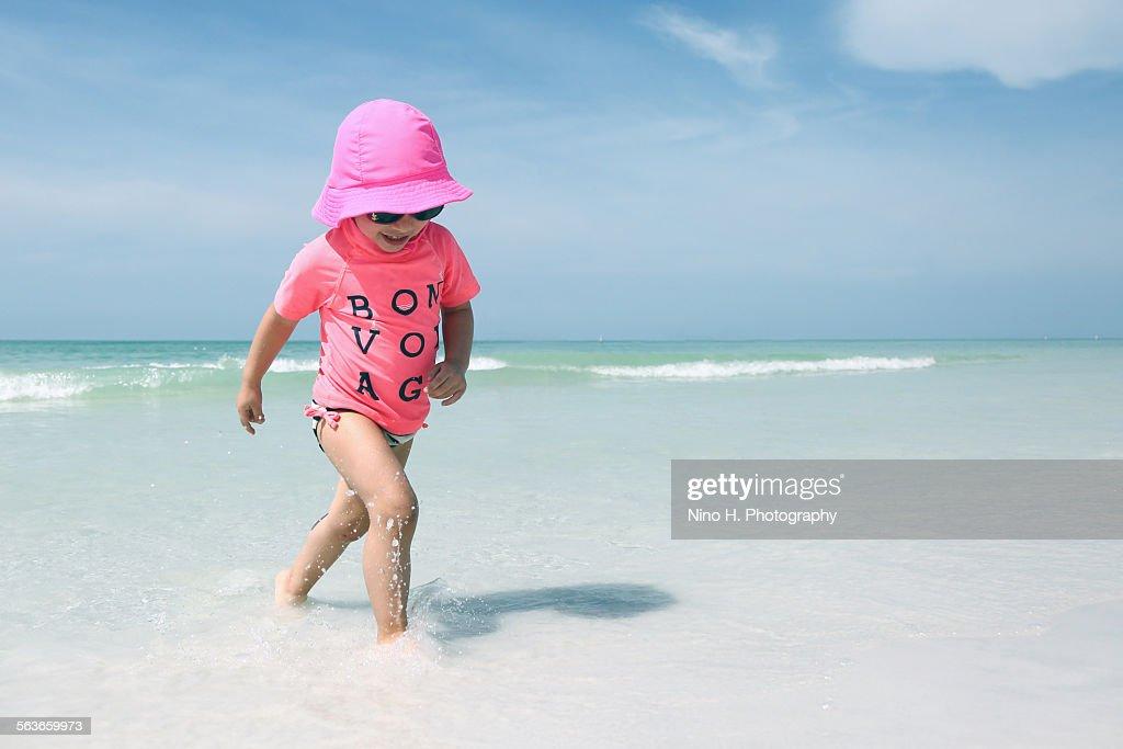 On the beach : Stock-Foto