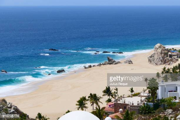 on the beach - cabo san lucas stock pictures, royalty-free photos & images