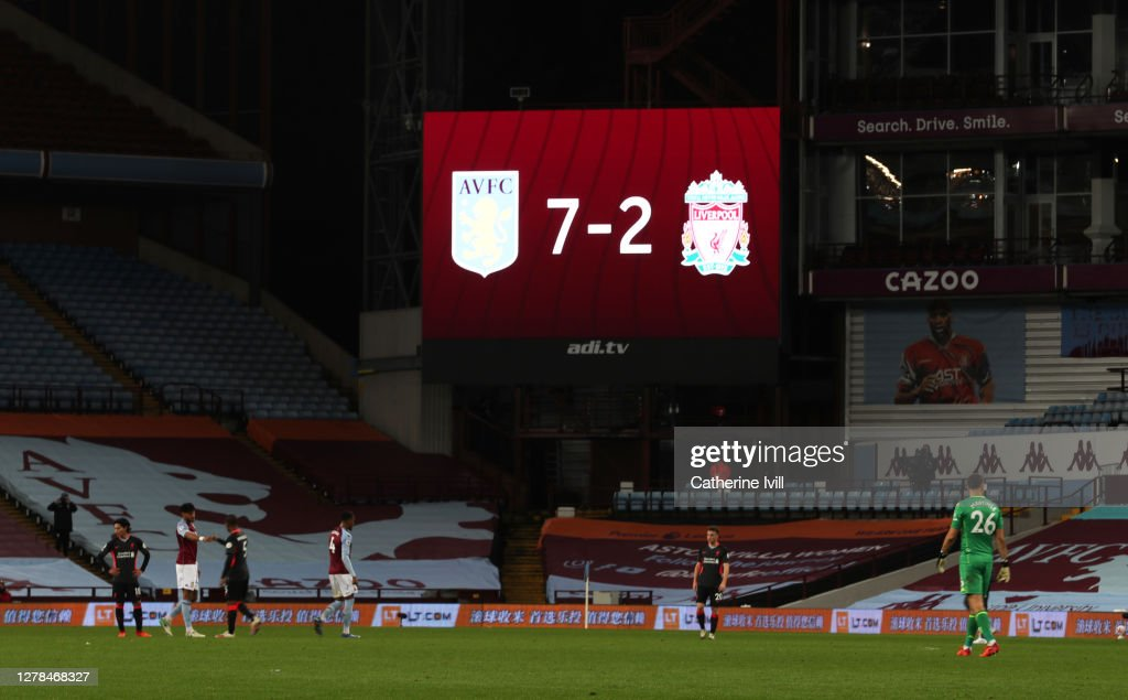 Aston Villa v Liverpool - Premier League : News Photo