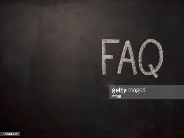 FAQ on the Blackboard