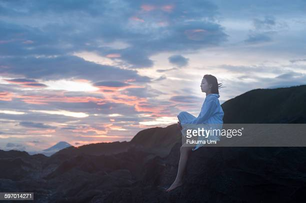 on the coast - only japanese stock pictures, royalty-free photos & images