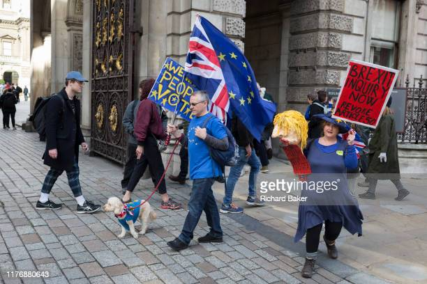 On the day that Members of Parliament sat on a Saturday in order to vote for Prime Minister Boris Johnson's Brexit deal with the EU in Brussels a...