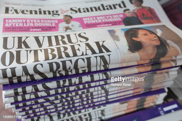 On the day that the UK Government's Chief Scientific Advisor, Sir Patrick Vallance said that the Coronavirus Covid-19 outbreak was now spreading...