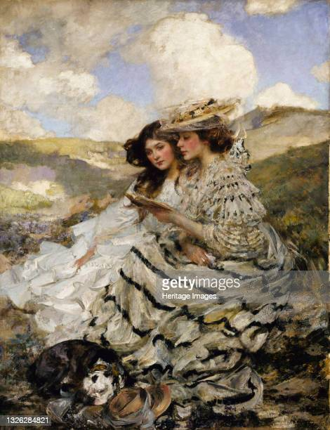 On the Dunes , ca. 1900-1910. Artist James Jebusa Shannon.