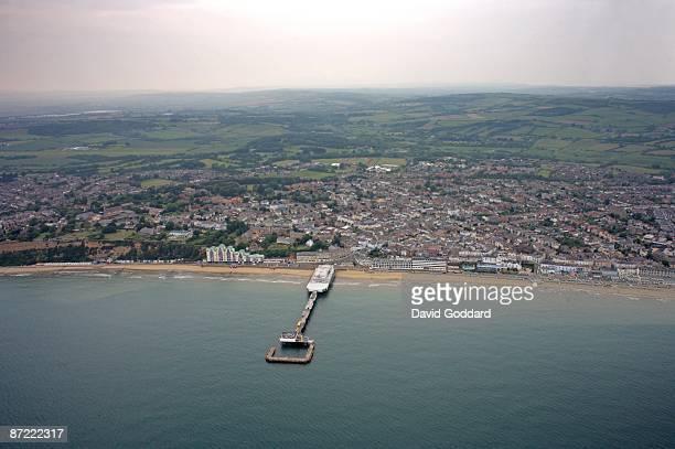 On the Eastern coastline of the Isle of Wight is seaside town of Sandown. On 8th June 2007.