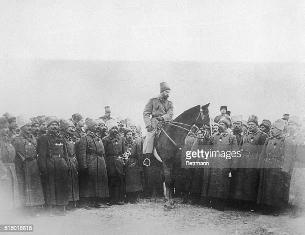 On the Eastern front reports that His Majesty Czar Nicholas of Russia has arrived at the front to watch his armies take up a renewed offensive...