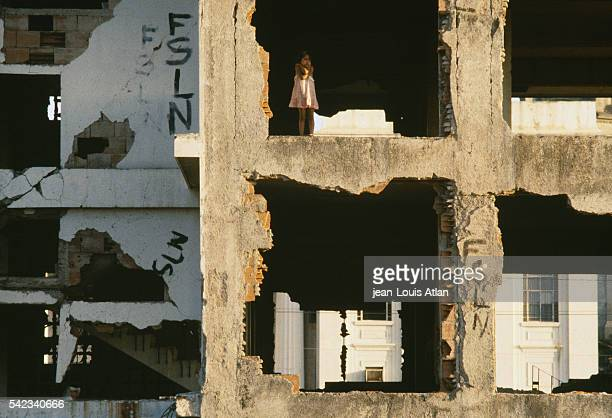 On the eve of Nicaragua's 1990 elections a little girl lives in a building partially destroyed by the 1972 earthquake