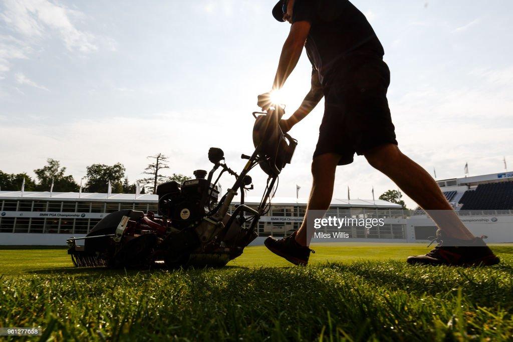 BMW PGA Championship Preparations 2018