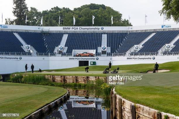 On the eve of the BMW PGA Championship greenkeepers prepare to welcome the likes of Rory McIlroy Tommy Fleetwood and Ian Poulter to Wentworth Club In...