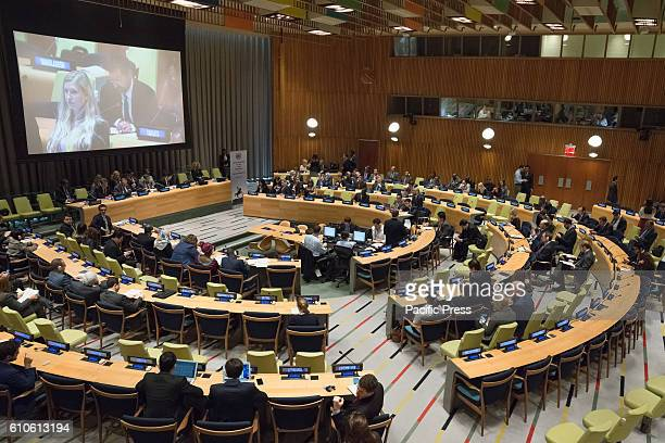 On the final day of the 71st United Nations General Assembly's annual General Debate an plenary event was held in UN Quarters' Trusteeship Council...