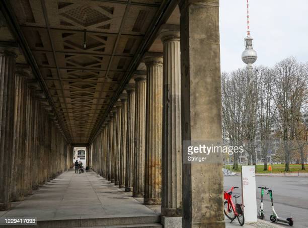 On the first day of a four-week semi-lockdown during the second wave of the coronavirus pandemic on November 2, 2020 in Berlin, Germany. The German...