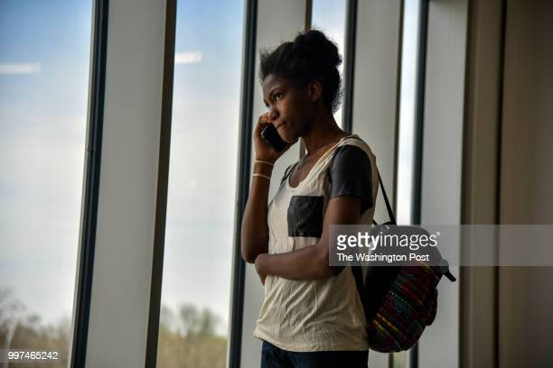 On the first day of a job training program Angelica Dunn a 22yearold mother of two takes calls concerning her parenting classes and a doctor's...